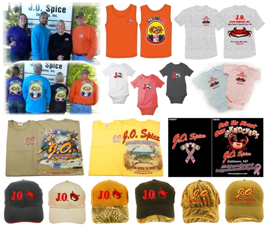 JO Spice Apparel Clothing Shirts
