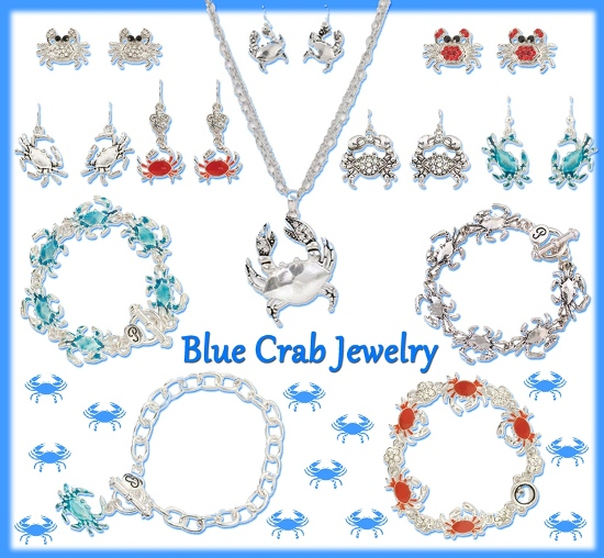 blue crab jewelry gifts