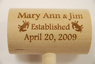 custom crab mallets